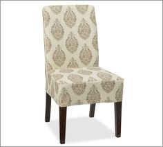 Dining room chair cover!
