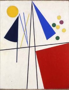 Equilibre, 1932 © Art by Sophie Taeuber-Arp Jean Arp, Sonia Delaunay, Sophie Taeuber Arp, Auguste Herbin, Augustin Lesage, Dada Artists, Modern Art, Contemporary Art, Concrete Art
