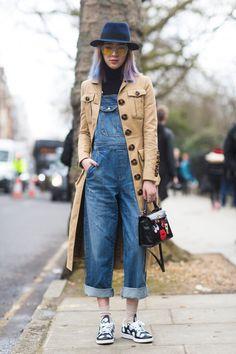 Best London Fashion Week Street Style Fall 2015