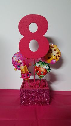 Shopkins Centerpieces by Joybeautifulcreation on Etsy
