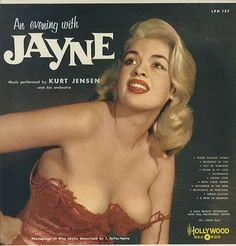 Jayne Mansfield An Evening With Jayne US vinyl LP album (LP record ...