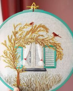 Cushion Embroidery, Diy Embroidery Patterns, Flower Embroidery Designs, Creative Embroidery, Simple Embroidery, Learn Embroidery, Hand Embroidery Patterns, Ribbon Embroidery, Embroidery Techniques