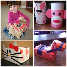 The Cutest Valentine Boxes that Kids will Love - Crafty Morning Homemade Valentine Boxes, Valentine Day Boxes, Valentine Crafts For Kids, Valentines Diy, Happy Valentines Day, Printable Valentine, Valentine Wreath, My Funny Valentine, Diy Valentine's Box