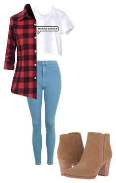 """""""Sem título #231"""" by tommoputeiro ❤ liked on Polyvore featuring Topshop, WithChic and Franco Sarto"""