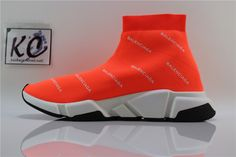 SAINTPABLO AUTH BNIB BALENCIAGA SPEED TRAINER Orange Balenciaga Speed  Trainer 3951e105c