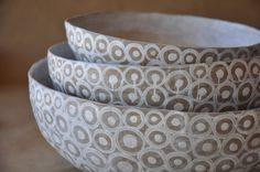 Jacmel papier mache bowls from Haiti's Artisan Business Network