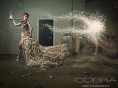 LIGHT'S GRASP - Surrealistic art Photographic art on plexiglass Cobra Art Company