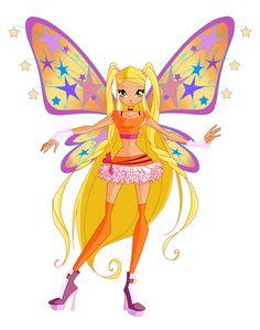 Stella Believix by Bloom2.deviantart.com on @deviantART Winx Magic, The Shining, Winx Club, Supernatural, Disney Characters, Fictional Characters, Mandala, Childhood, Princess Zelda
