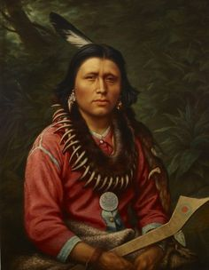 Frederick Arthur Verner - Indian chief, 1871