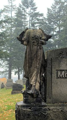 Sadness at a Portland, Oregon cemetery  | Flickr - Photo Sharing!