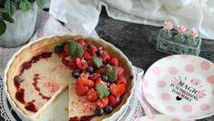 Erdbeer-Käsekuchen oder fruchtige Tarte mit Erdbeeren & Skyr Baby Cupcake, Cheesecake, Low Carb, Pudding, Mexican, Breakfast, Ethnic Recipes, Desserts, Blog