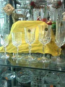 COPAS Y VASOS PERU: COPAS DE CRISTAL - VENTA Wine Glass, Tableware, Ideas, Vases, Puertas, Crystals, Home, Dinnerware, Dishes