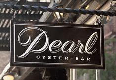 Pearl Oyster Bar | Louise Fili Ltd