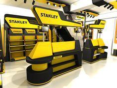 stanley namsan izmir shop on Behance Pos Design, Stand Design, Display Design, Hidden Rooms, Architectural Section, Retail Store Design, Point Of Purchase, Store Fixtures, Shop Interior Design