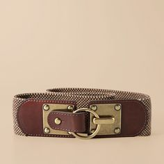 Love the hardware on this belt!