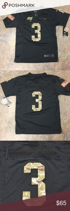 Jameis Winston Nike Buccaneers Youth Medium Jersey Brand new with tags  officially licensed Jameis Winston Nike Tampa Bay Buccaneers salute to  Service Youth ... c3bdd133f