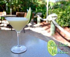 Key Lime Martini -  Citron, Coconut Rum, Splash pineapple, Coco lopez, lime juice