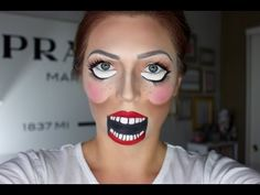 She Paints Half-Circles on Her Face. I Still Can't Believe the Transformation!