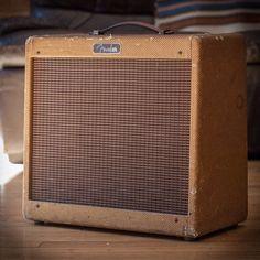 "TR Crandall Guitars (@trcrandall) on Instagram: ""1960 Fender Princeton just in.  #vintage #fender #tweed #amp #trcrandall #nyc"""