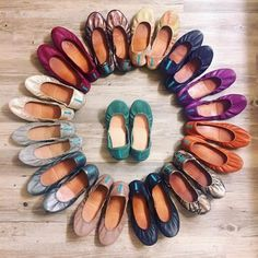 Tieks by Gavrieli- The Ballet Flat Reinvented Unique Shoes, Cute Shoes, Me Too Shoes, Biscuit, Pacific Green, Tieks Ballet Flats, Tieks By Gavrieli, Fashion Shoes, Women's Fashion