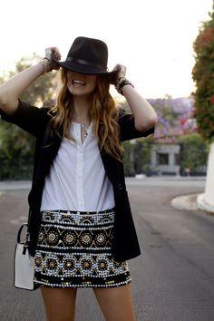 Emboidered Skirt