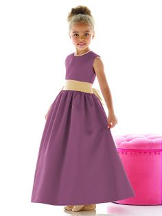 Flower Girl Dress FL4021 http://www.dessy.com/dresses/flowergirl/fl4021/?color=amethyst&colorid=1#.UtG7oH_FIv4