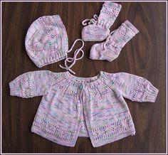 Panda Soy - Panda Superwash - Panda Cotton Layette Set - free baby pattern - Crystal Palace Yarns