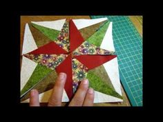 Tutorial Blazing Star by Roseli Barbosa (Lolla Crafts) - YouTube