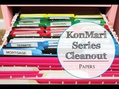 konmari series cleanout papers 2019 konmari series cleanout papers The post konmari series cleanout papers 2019 appeared first on Paper ideas. Organizing Paperwork, Organizing Your Home, Office Organization, Clean Out, Paper Clutter, Marie Kondo, Tidy Up, Getting Organized, Life Changing