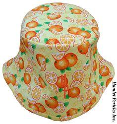 Orange-fruit Unisex Bucket Hat  Oranges  by HamletPericlesInc