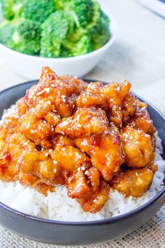 General Tso's Chicken Easy Chinese Recipes, Asian Recipes, Healthy Recipes, General Tso, Chinese Honey Chicken, Orange Chicken, Sesame Chicken, Chinese Food Delivery, Tso Chicken