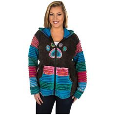 Layer+Upon+Layers+Paw+Print+Jacket+-+Plus+Size+at+The+Rainforest+Site