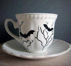 Gothic Teacup-Gothic Culture