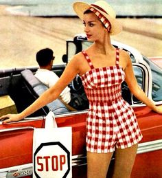 50s fashion, red :)