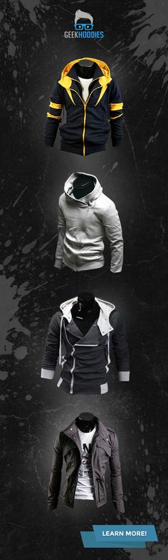 139 best Geek Fashion   Swag images on Pinterest   Clothing apparel      assassins  geek  menswear You can