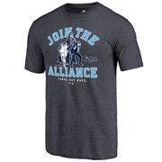MLBShop.com - MLBShop.com Men's Tampa Bay Rays Fanatics Branded Navy MLB Star Wars Join The Alliance Tri-Blend T-Shirt - AdoreWe.com