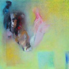 In my studio I. - Full-frontal image, unframed