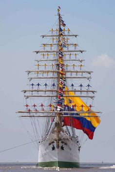 ARC Gloria is a training ship and official flagship of the Colombian Navy. Built…