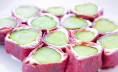 Pickle roll-ups! they are soooo good!!