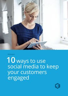 Social Media can be a powerful tool - but only if used right! Read this e-book to discover 10 ways of how to increase customer engagement and identification with your business! #socialmedia #digitalmarketing #marketing #winwithshore #crm  #shore #businesstips