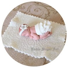 BABY SHOWER CAKE Topper Fondant Baby Shower Decorations