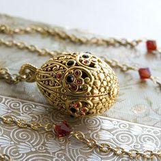Faberge Egg pendant