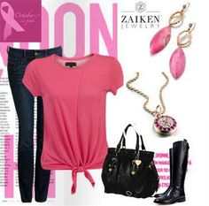 Think Pink!!!!   October is Breast Cancer Awareness Month - our Pink Sapphire Evil Eye Pendant is a timely piece. 100% of proceeds are donated to Breast Cancer Awareness...fighting cancer never looked so good!     http://zaikenjewelry.com/