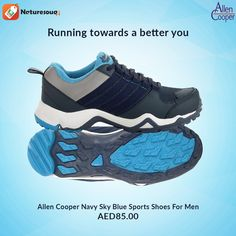 Response shoes also good for Walking in outdoor its flexible when you are running and walking. Woodland Shoes, How To Better Yourself, Sports Shoes, Walking, Running, Navy, Sneakers, Blue, Men