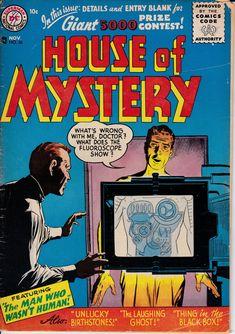 House of Mystery #56 - November 1956 - DC Comics - Grade VG