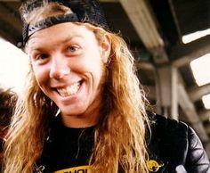 Lovin' this pic of James Hetfield!