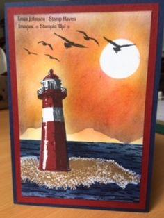 Tania Johnson : Stamp Haven: High Tide: Masculine Card. tide up 2017 background High Tide Stampin Up, Boy Cards, Men's Cards, Stampin Up Karten, Nautical Cards, Card Making Tips, Stamping Up Cards, Scrapbook Cards, Scrapbooking