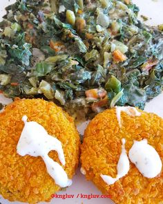 Fish cakes with spinach onion and tomotoe #fishcakesoup