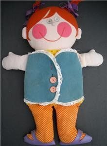 does anyone remember the name of this doll?