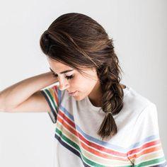 Einfach Frisuren: Flechtzopf